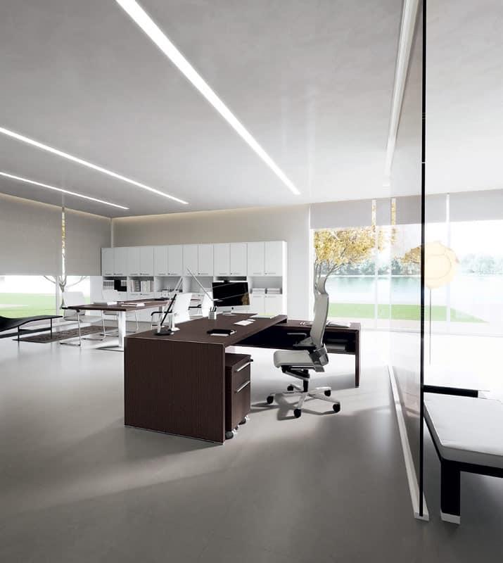 Dv904 york 2 scrivanie e cassettiere ufficio uffici - Cassettiere ufficio ...