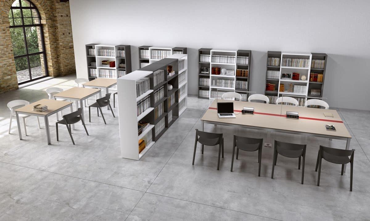 Postazioni per uffici moderni ed aree condivise idfdesign for Uffici moderni