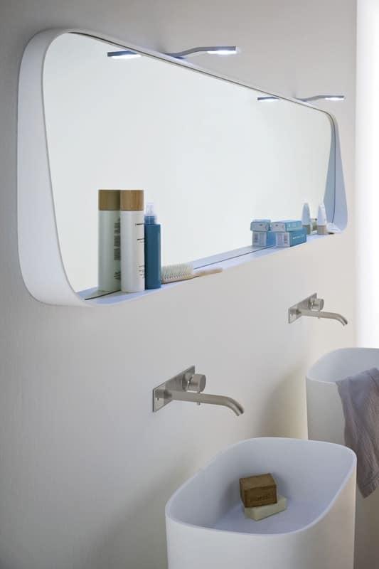 Bagno sanitari specchi da bagno idf - Specchi bagno design ...