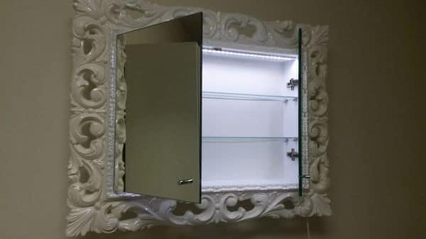 Specchio da bagno memo specchiera - Specchi particolari per bagno ...