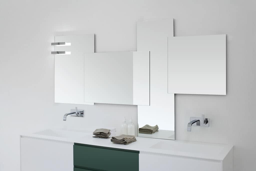 Specchiere componibili per bagno idfdesign - Specchio bagno prezzi ...