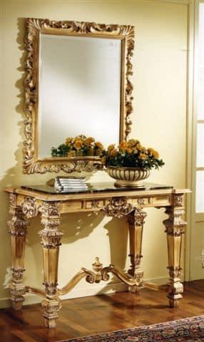 3100 SPECCHIERA, Specchio intagliato per hotel di lusso