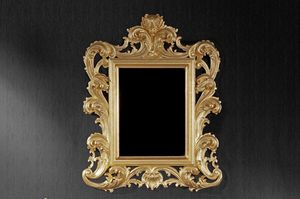 Ricciolo specchiera piccola, Specchio classico adatto per alberghi e ristoranti