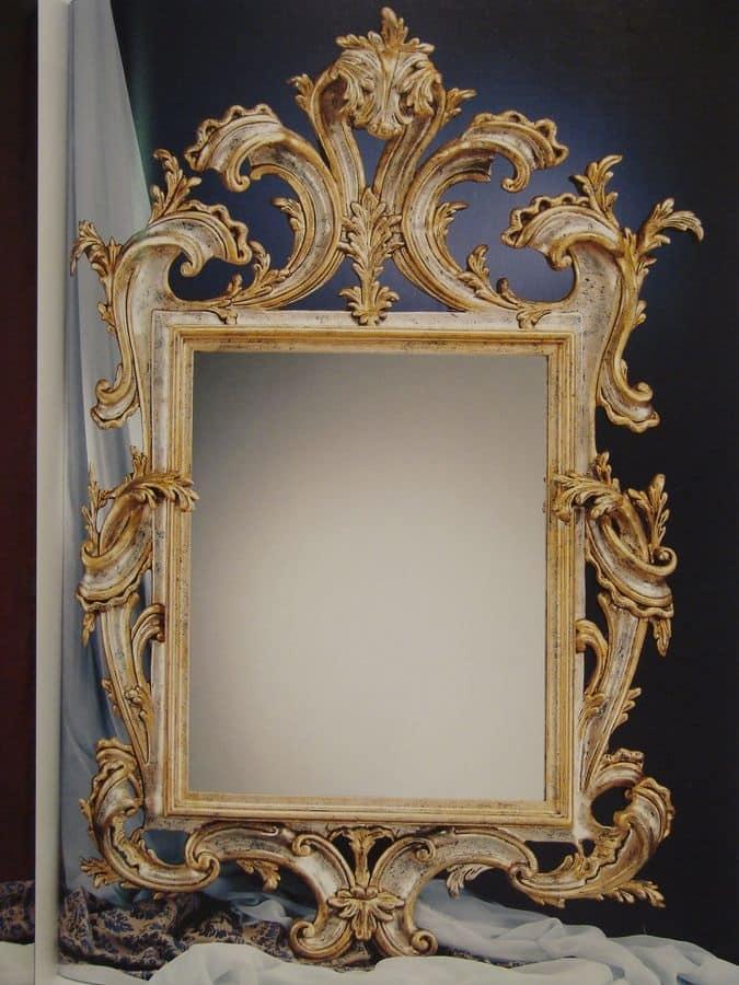Specchio classico per la casa stile 39 800 francese idfdesign for Galimberti case legno