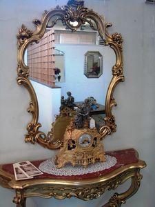 Art. 155, Specchiera con cornice in legno intagliato