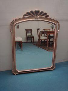 Art. 158, Specchiera con cornice decorata da artigiani