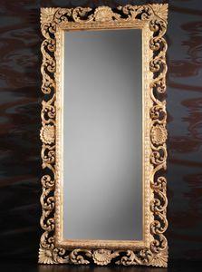 Art. 19560, Specchiera classica di lusso in legno intagliato