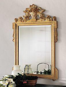 Art. 205/S, Specchiera classica, con intagli