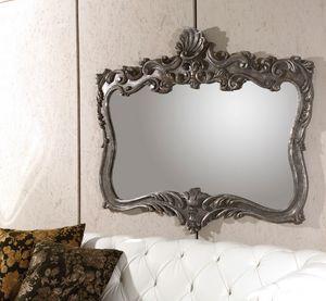 Art. 21010, Specchiera con cornice color platino