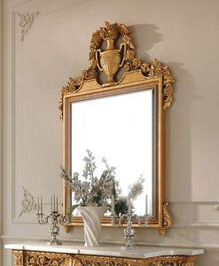 Art. 262/S, Specchiera classica, in legno intagliato