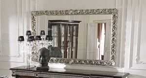 ART. 2754, Specchiera con cornice con finiture in argento