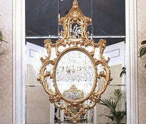 ART. 3035, Specchiera classica con decori