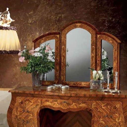 Specchio classico per uso residenziale idfdesign - Specchi in stile ...