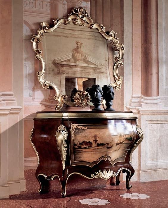 Specchio intagliato soggiorni idfdesign - Soggiorni di lusso ...