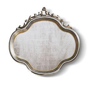 4556, Specchiera classica, con preziosi intagli