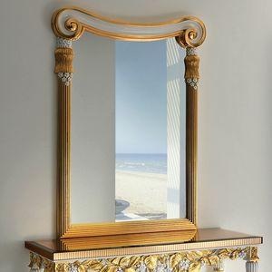 Capri CP190, Specchiera in stile classico, intagliata