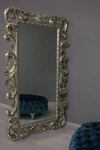 Immagine di Loto, specchio-in-legno