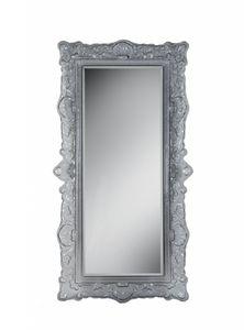 Louvre specchio, Specchio in stile classico, con cornice in vetro fuso