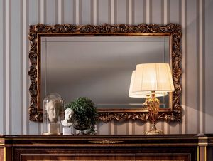 Modigliani specchiera intagliata, Specchiera con preziosa cornice