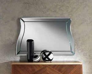 SP29 Desyo, Specchiera elegante per ambienti lussuosi