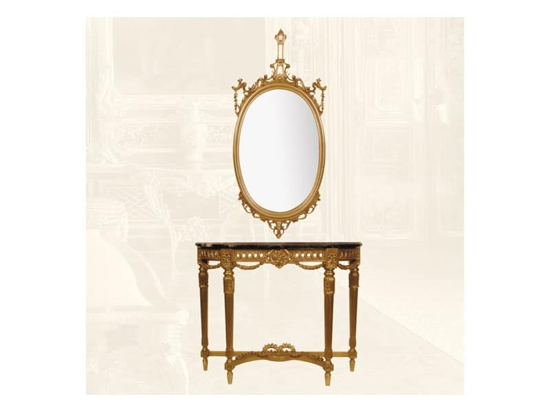 Specchiera art. 111/a, Specchiera per salotti e sale da pranzo, stile classico