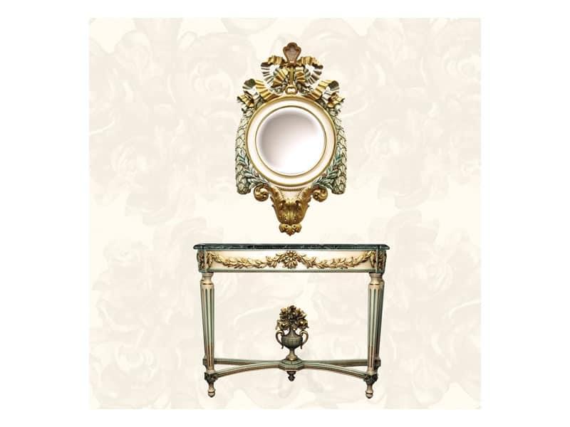 Specchiera decorativa di lusso idfdesign - Specchi in stile ...