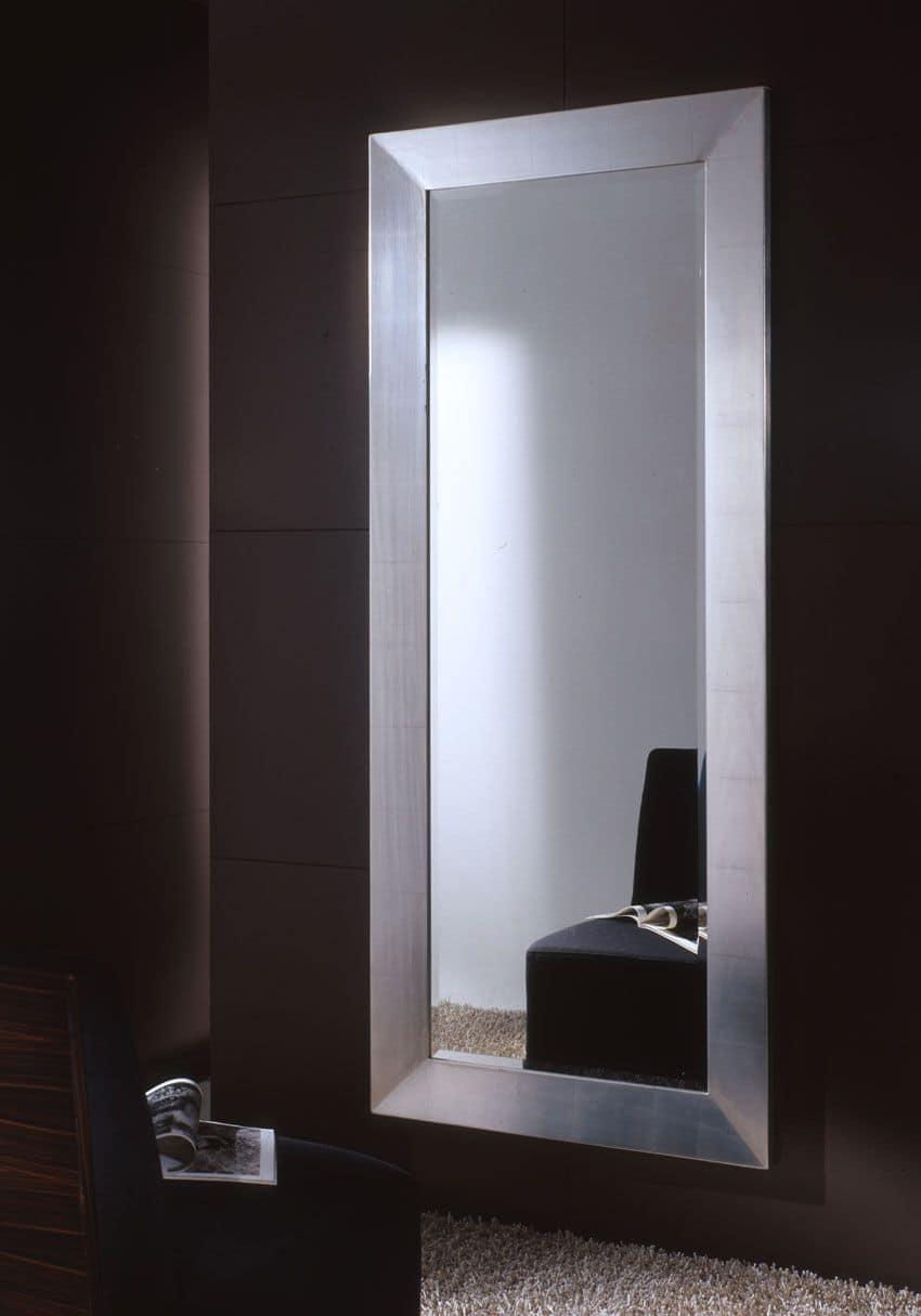 Specchiera rettangolare grande con cornice laccata - Specchio grande ...