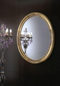 Immagine di Specchiera Orchidea, specchio-intagliato