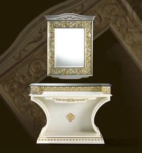 Immagine di Specchiera Wien, specchiera classica di lusso