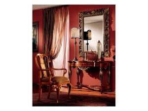 Venezia specchiera 832, Specchio con cornice intagliata a mano