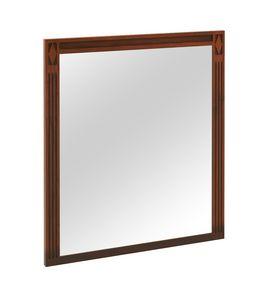Villa Borghese specchio 9376, Specchio con cornice in legno, stile directoire