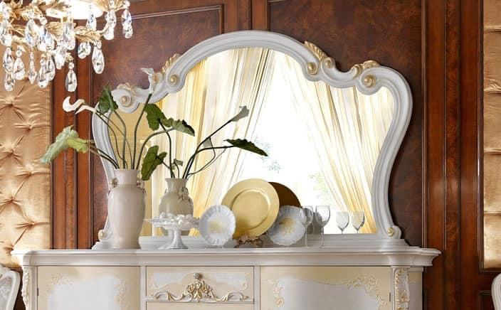 Specchiera in stile classico per ville lussuose idfdesign for Ville stile classico