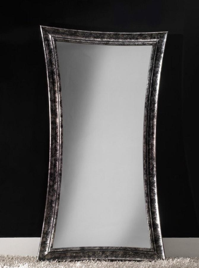 Specchi Moderni Con Cornice.Specchio Moderno Con Cornice In Legno Idfdesign