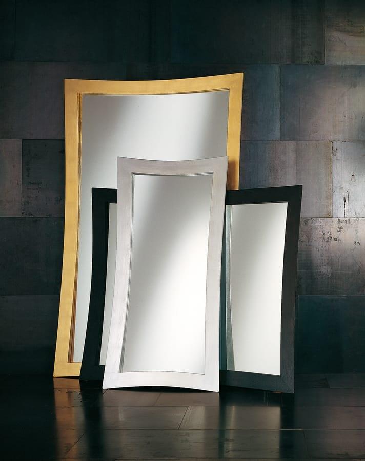Specchi Moderni Con Cornice.Specchio Moderno Con Cornice Idfdesign