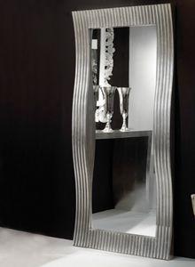 Art. 20712, Specchio rettangolare con cornice ondulata