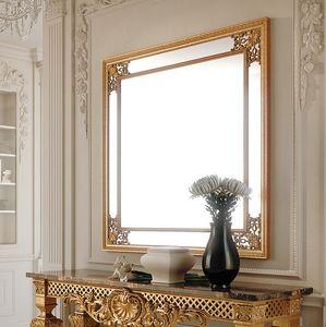 Art. 286/S, Specchiera quadrata con cornice decorata