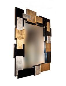 Art. 2904 Michelle, Specchiera con particolare cornice in quattro finiture