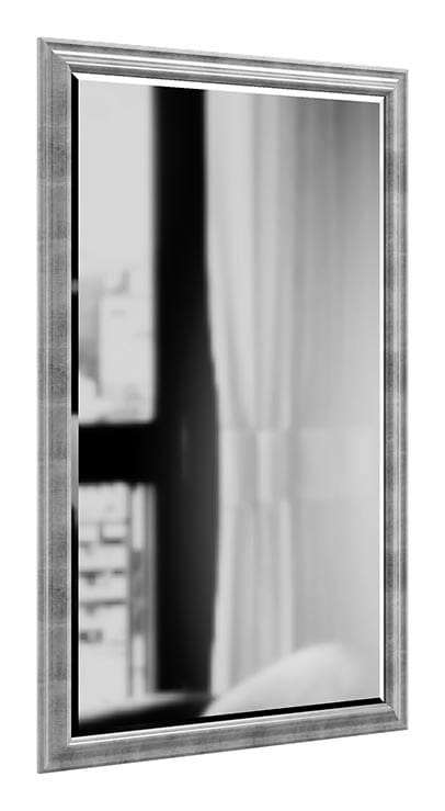 Specchio con cornice argento | IDFdesign