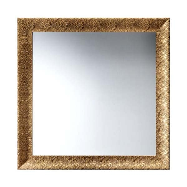 Art. AS357, Specchiera quadrata con cornice, per ristoranti