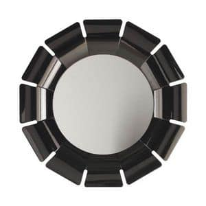 Art. AS513, Specchiera rotonda, per alberghi di lusso