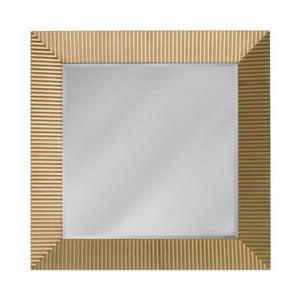 Art. CA731, Specchiera quadrata, con cornice decorata a mano