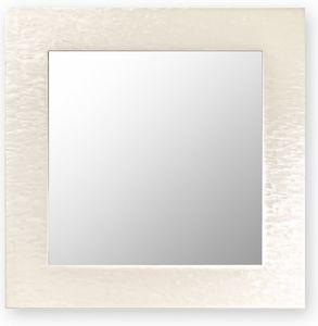 Asia, Specchio da parete con cornice in legno