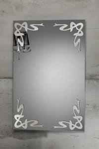 DECO MIRROR, Specchio con decorazioni