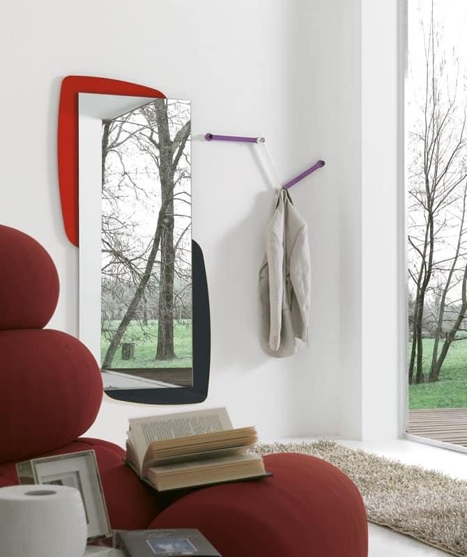 Specchio Rettangolare Disponibile Con Vari Optional