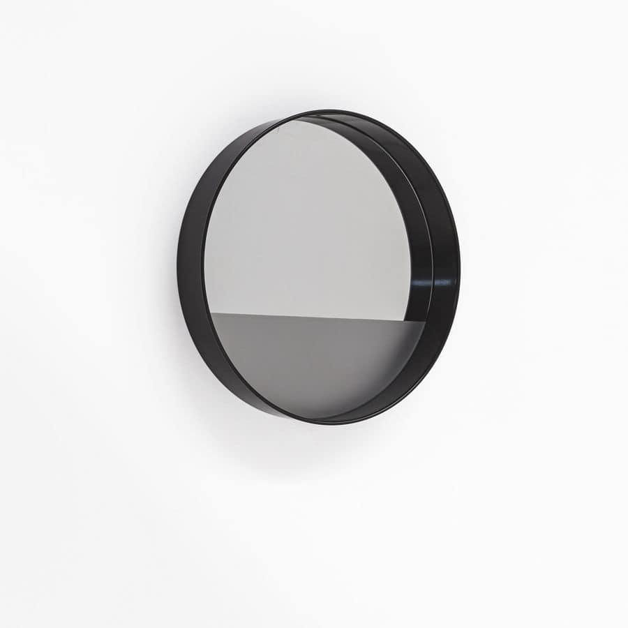 Specchio rotondo moderno per la casa varie dimensioni - Specchio rotondo ...