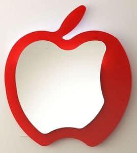 k193 fruit, Specchio moderno a forma di mela