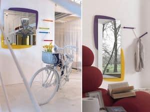 k198 visual, Specchio con retropannello con illuminazione LED