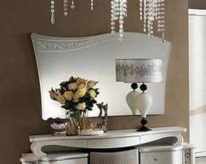 Mir� specchiera, Specchiera con design in stile classico contemporaneo