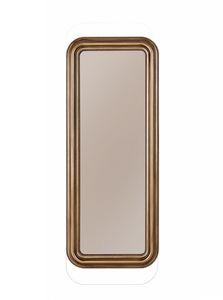Novecento specchio, Specchio con cornice arrotondata