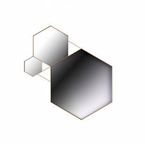 Rockstar specchio, Specchi con forma esagonale